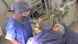 Специалисты кемеровской Областной больницы скорой медицинской помощи освоили новую технологию