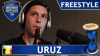 Uruz from Belgium - Freestyle - Beatbox Battle TV