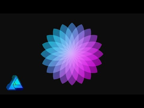 Beautiful Floral Design  Affinity Designer Tutorial