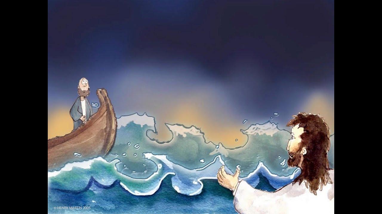 Bedtime Bible Story: Wet Feet - YouTube