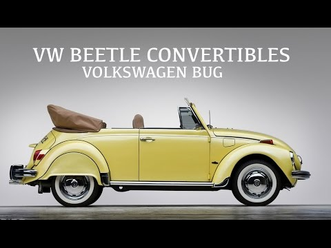 vw beetle convertibles volkswagen bug classic cars youtube. Black Bedroom Furniture Sets. Home Design Ideas