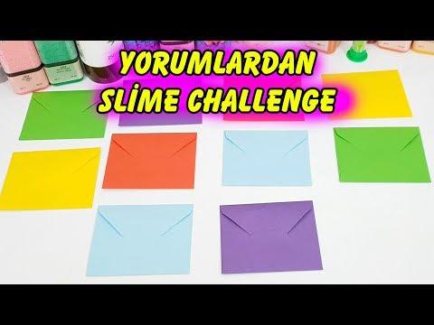 Yorumlardan Slime Challenge Zarftan Ne Çıkarsa Slaym Eğlenceli Oyun Videosu
