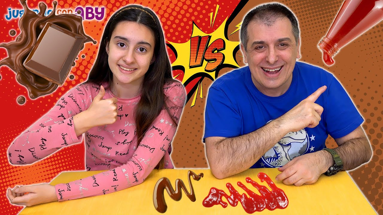 Chocolate Vs Ketchup Y Salsas Misteriosas Challenge Aby Youtube