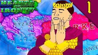 BYZANTINE EMPIRE 1936 Hearts of Iron 4 HOI4 Challenge Byzantine Empire Mod Gameplay 1