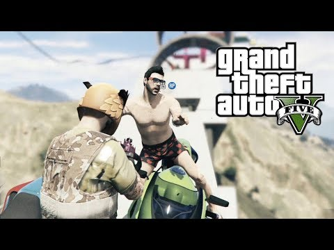 ME ATROPELLA MUERTO LA RATA!! PARKOUR GTA V