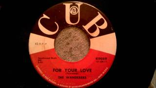 wanderers for your love beautiful early 60 s doo wop ballad