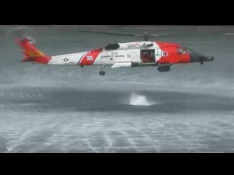 Coast Guard Air Station Kodiak SAR demo