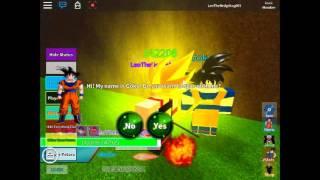 Roblox PF:IB The Attack Vegeta,Goku,Gohan,Goku_Black