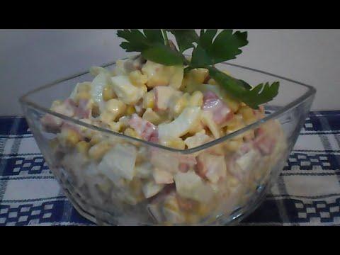 Салат из КРАБОВЫХ палочек за ПЯТЬ минут/ Вкуснейший САЛАТ на праздник