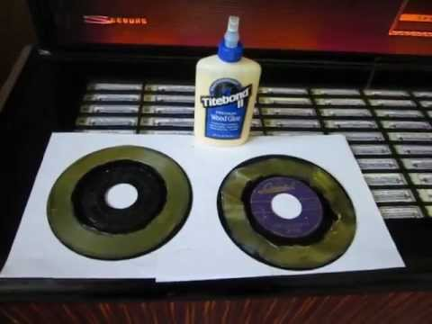 How To Clean 45 Vinyl Records Using Titebond Ii Wood Glue