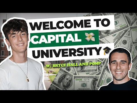 Welcome to Capital University with Bryce Hall & Anthony Pompliano (NEW PODCAST)