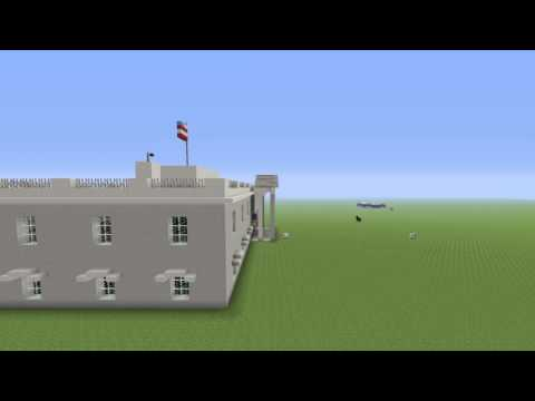 Minecraft | The White House in Minecraft | Addi Gamer Wolf