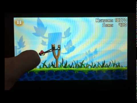 Angry Birds на teXet - 7021