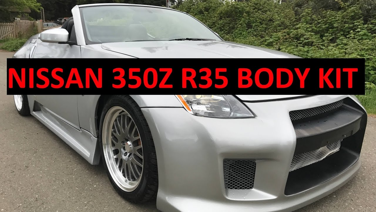 2005 Nissan 350z Walk Around GTR R35 Body kit 18 ...
