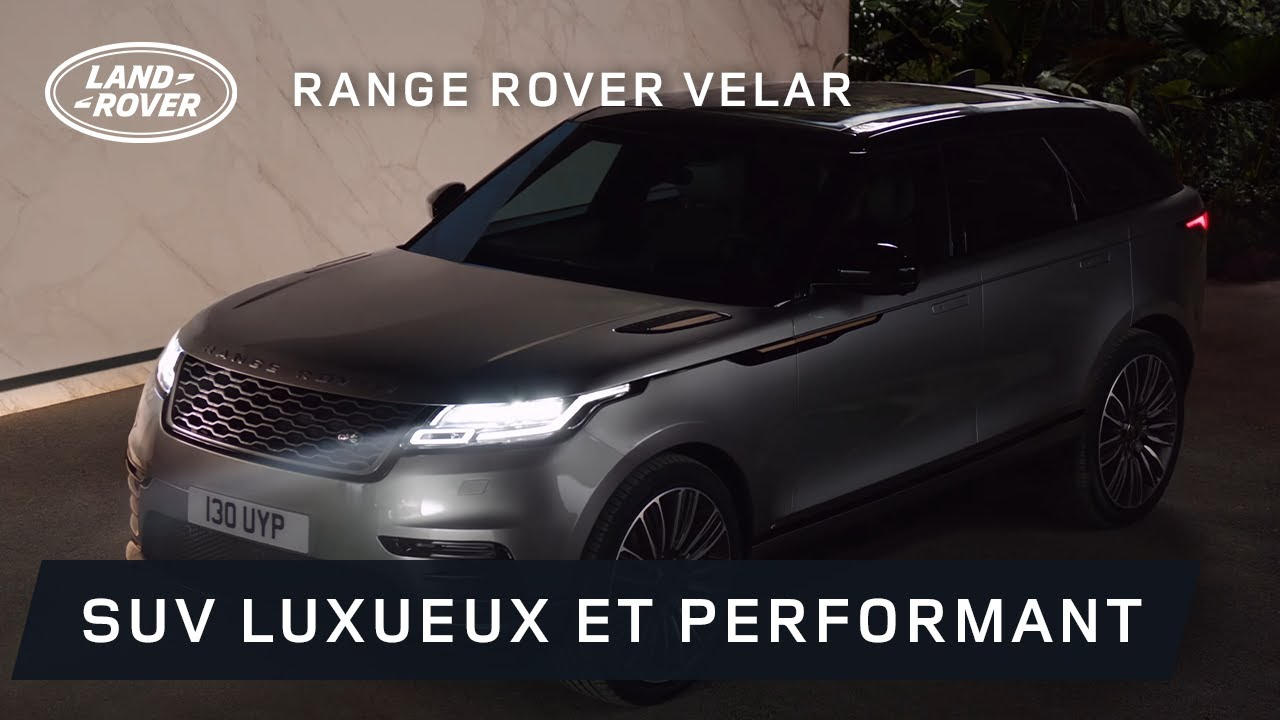 nouveau range rover velar youtube. Black Bedroom Furniture Sets. Home Design Ideas