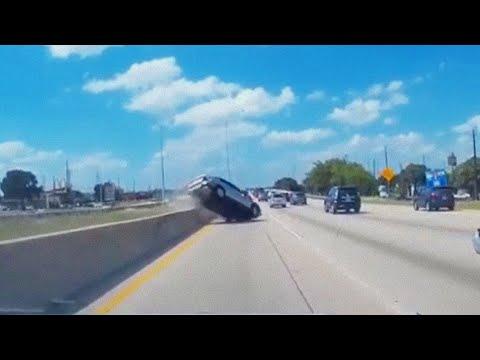 #034 Подборка очень невнимательных водителей из США