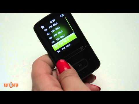 MP4 Player Philips GoGear 4GB Vibe SA3VBE04K - Resenha Brasil