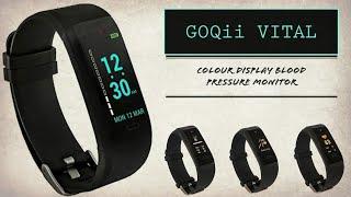 GOQii VITAL - Colour Display Blood Pressure Monitor