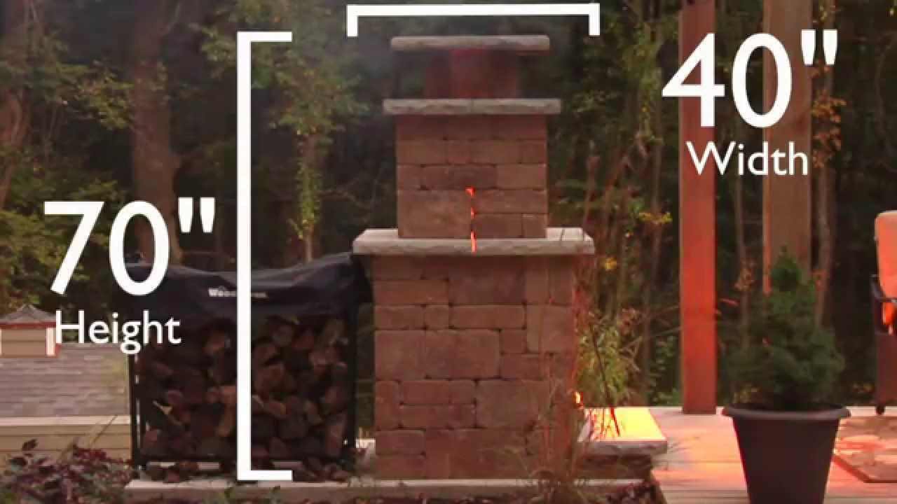 adding an outdoor fireplace youtube