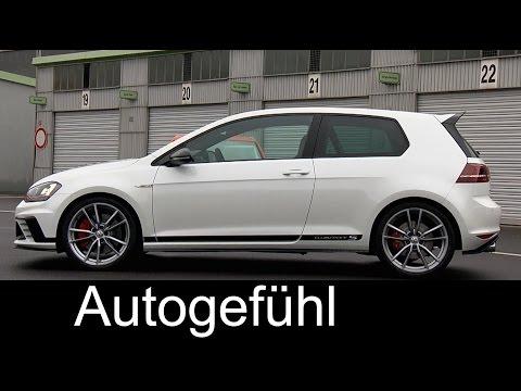 VW Golf GTI Clubsport S HOT LAP on Nürburgring Nordschleife - Autogefühl