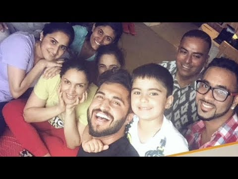 Jassi Gill Family Photos - Father, Mother, Wife, son ...