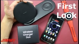 Samsung Wireless Charger Duo - FIRST LOOK, Hands On & Review