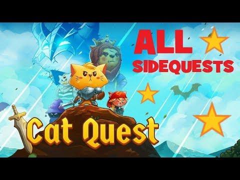 🐱 CAT QUEST | ALL SIDEQUESTS - Fishercat's Friend |
