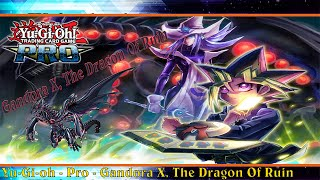 Yu-Gi-Oh Pro - YGOPRO - Deck Profile - Gandora X, The Dragon Of Ruin