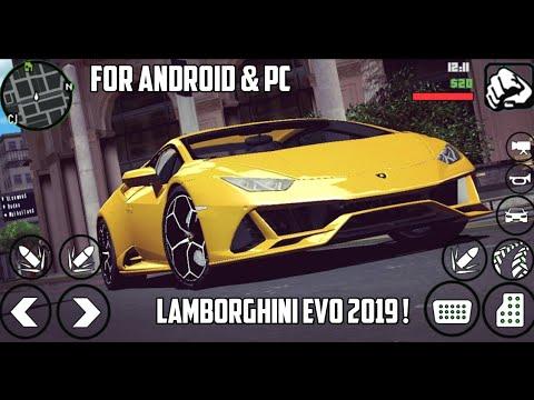 [3 MB ] Lamborghini Huracan EVO Coupè & Spyder Car Mod | For Android & PC | GTA SA