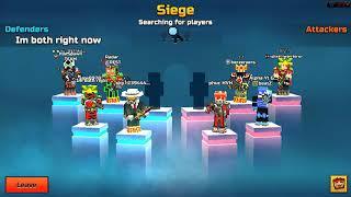 Pixel Gun 3D - Clan Siege Battle Gameplay Awesome