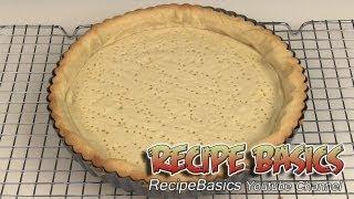 Sweet Tart Dough Recipe / Sweet Pie Shell Dough Recipe: