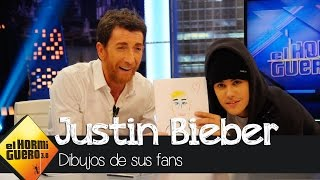 Así son los dibujos que le han hecho las fans a Justin Bieber - El Hormiguero 3.0