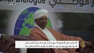 البشير يتهم مصر بتسليح جوبا والعدائية تجاه السودان