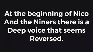 Baixar Nico and the Niners beginning reversed!?!? Twenty one pilots theory??!!