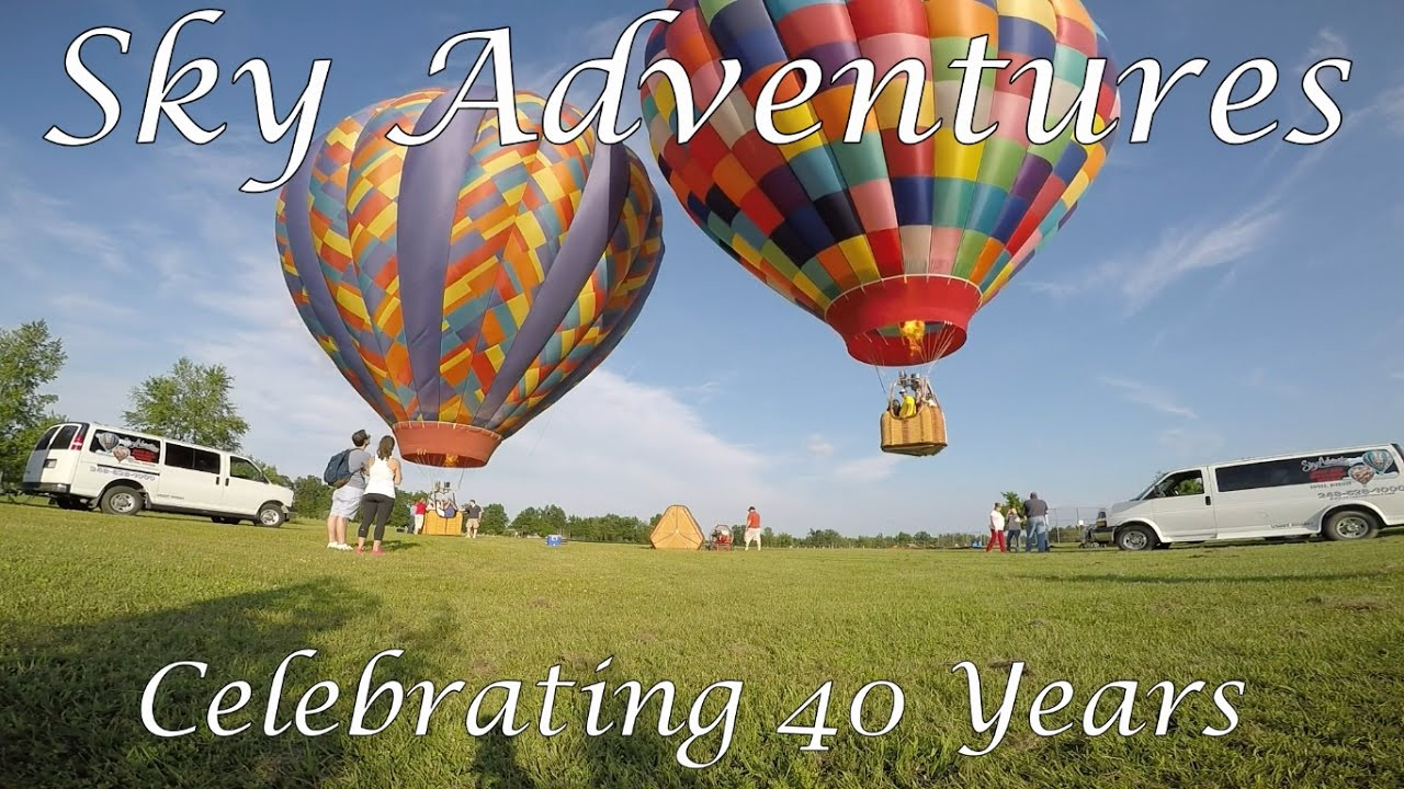 Sky adventures 40th year youtube