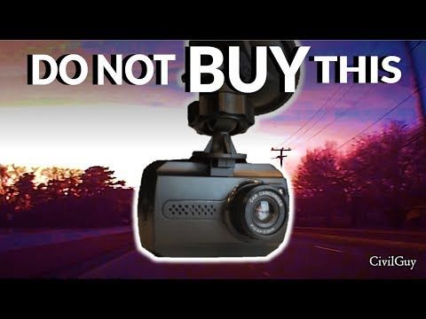 Cheap Dash Camera Review