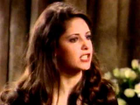 All My Children- 1994- Kendall (SMG) Crashes Mona's Wake