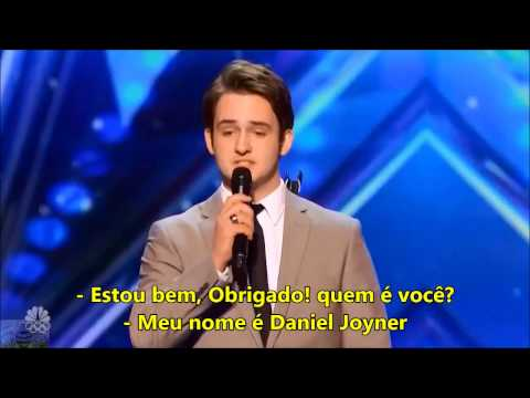 Daniel Joyner cantado Try A Little Tenderness Michael Buble