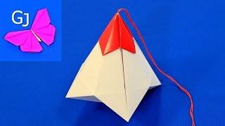 Оригами КОРОБОЧКА С СЮРПРИЗОМ из бумаги
