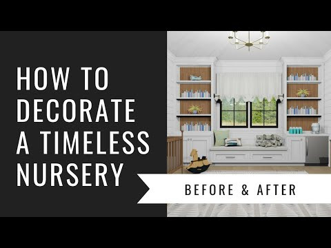 Arianne Bellizaire Interiors Design Presentation: How To Decorate A Timeless Nursery