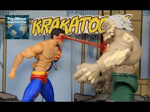 Dc Icons Death Of Superman 6 Doomsday Vs Superman Diorama