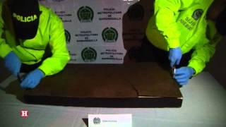 Hallan 11 kilos de marihuana en cuadro de Lionel Messi