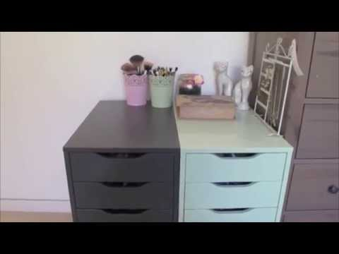 DIY Make Up Storage! - Feat  Alex Drawers from IKEA