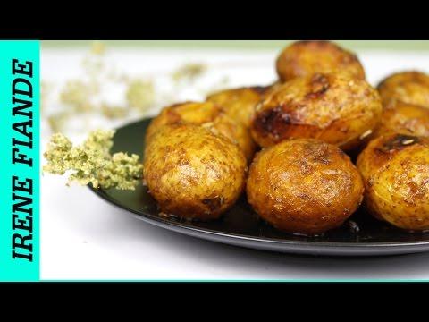 Как запечь картошку целиком в духовке