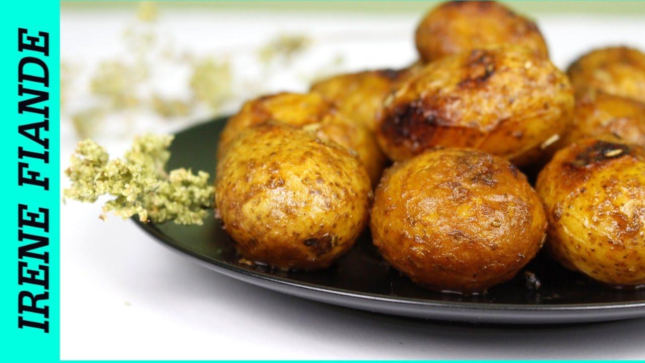 Беби картофель в духовке