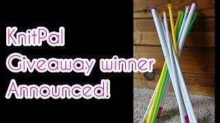 KnitPal Giveaway Winner Announced