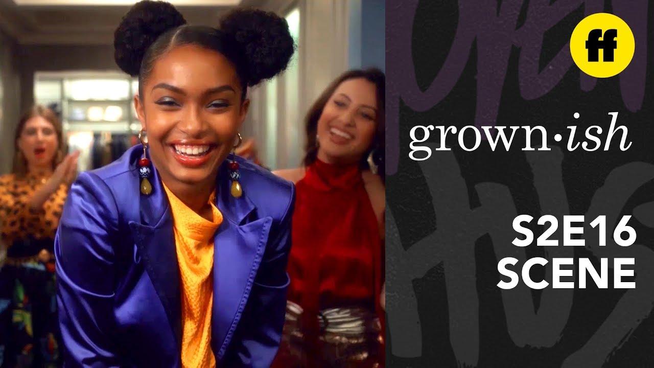 Download grown-ish Season 2, Episode 16 | Rainbow's Closet Runway | Freeform