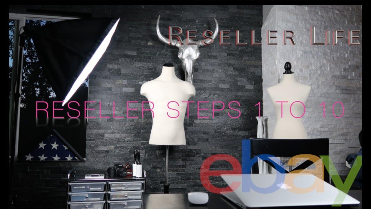 E02 eBay Reseller instructional Guide - Tutorial 1-10 early eBay Steps & Ideas!