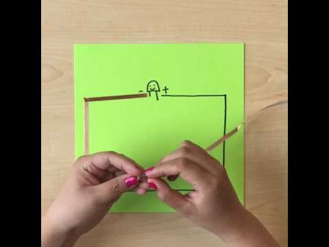 60 Seconds DIY Paper Circuit Tutorial