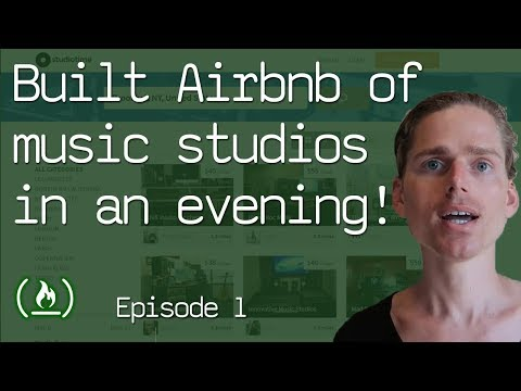How I built the Airbnb of music studios in an evening part 1 of the Studiotime story